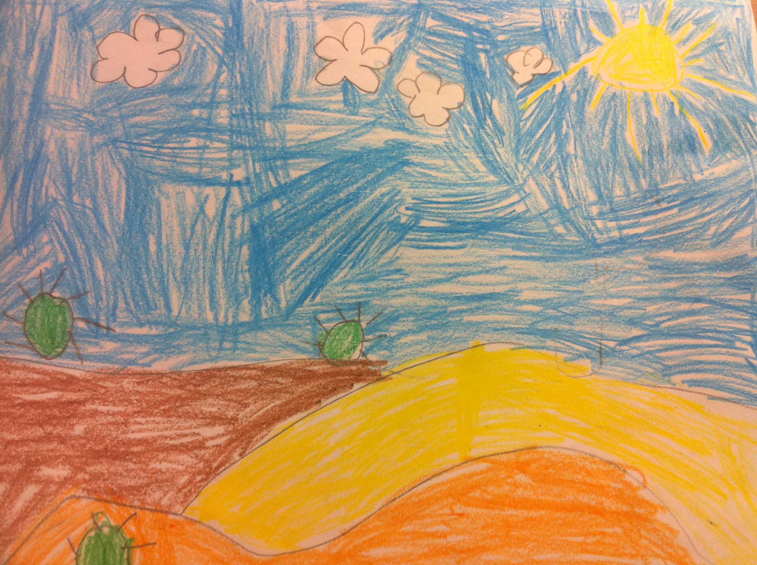 Kindergarten Drawing Mandarin For Me 中文与我