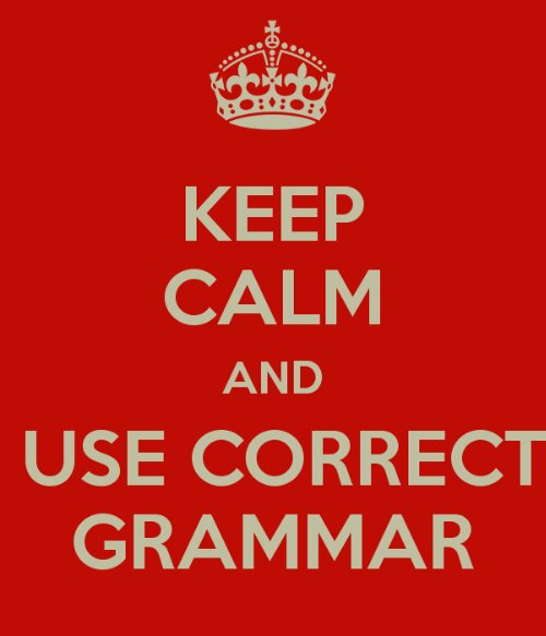 grammar keep calm